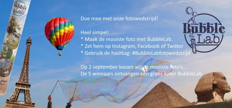 BubbleLab fotowedstrijd
