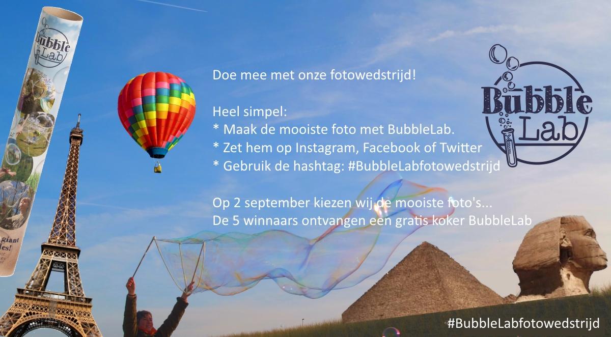 BubbleLab fotowedstrijd 2016
